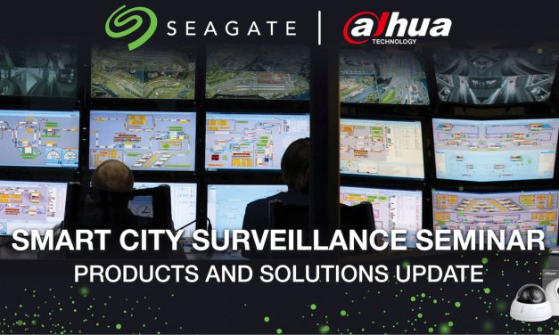 Seagate and Dahua Teams-Up for Smart and Safer Cities