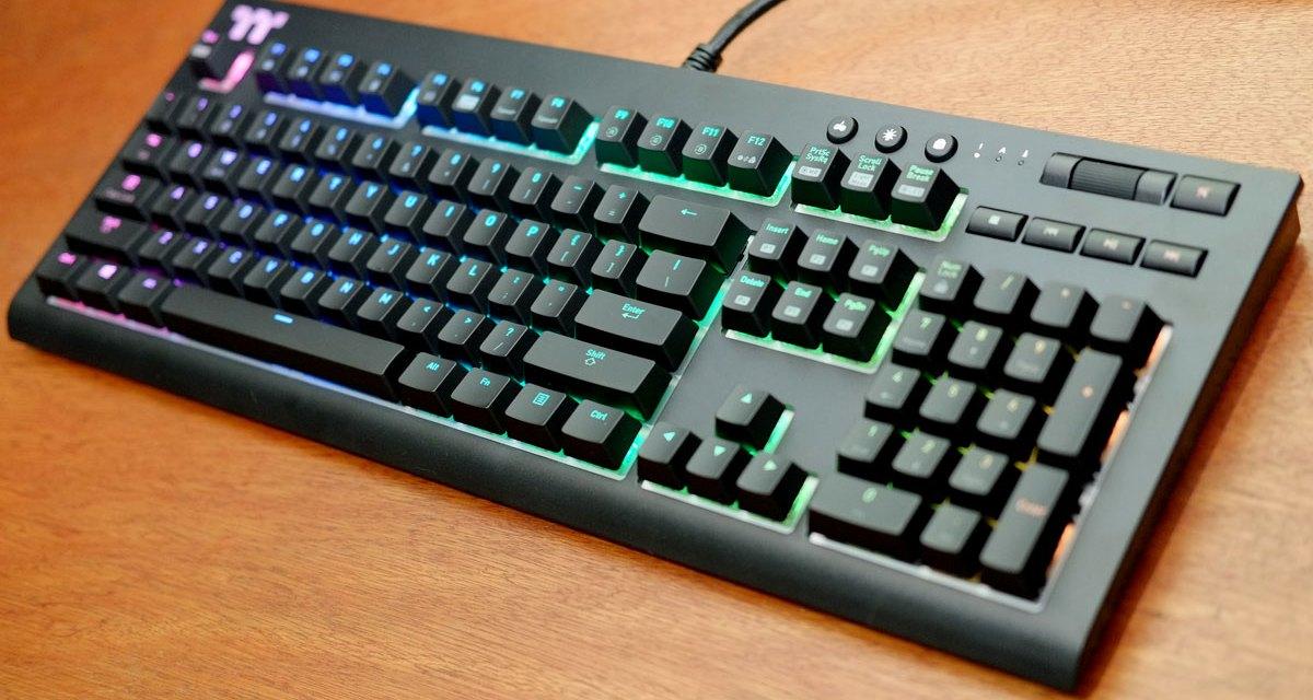6ddcd4e57b8 Review | TT Premium X1 RGB Mechanical Gaming Keyboard | TechPorn