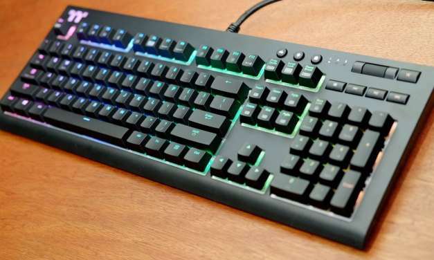 Review | TT Premium X1 RGB Mechanical Gaming Keyboard