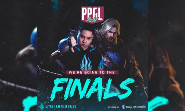 Team Liyab Secures Spot at the PPGL AOV Finals