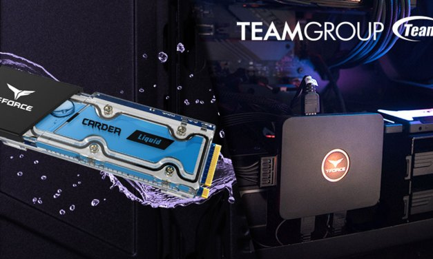 TEAMGROUP Releases T-FORCE CARDEA Liquid  and CAPTAIN RGB