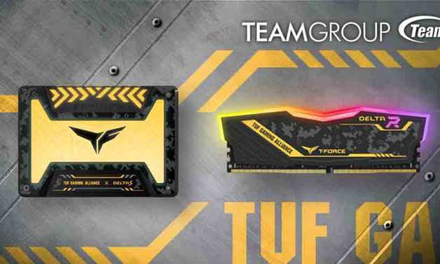 TEAMGROUP Releases TUF Certified RGB SSD and RGB Memory