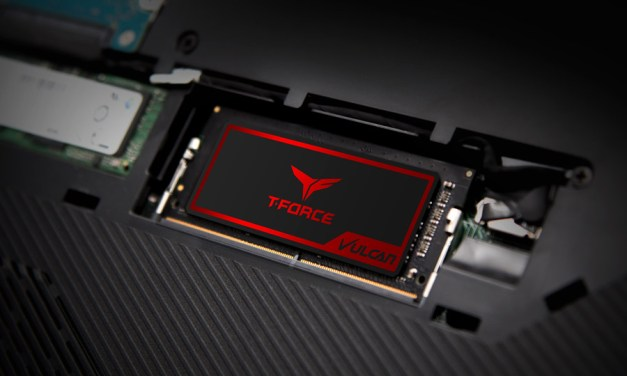 TEAMGROUP Releases T-FORCE VULCAN DDR4 for Notebooks