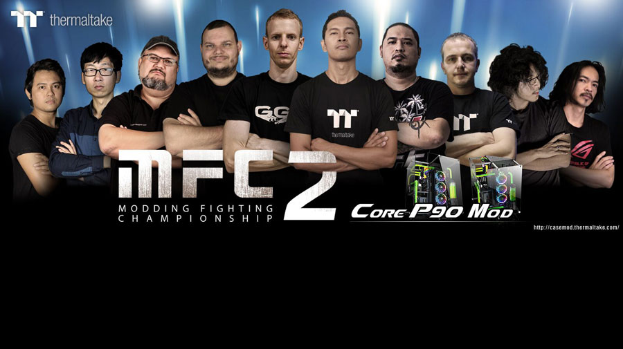 Thermaltake Starts Modding Fighting Championship Season 2