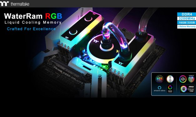Thermaltake Officially Enters the Memory Market