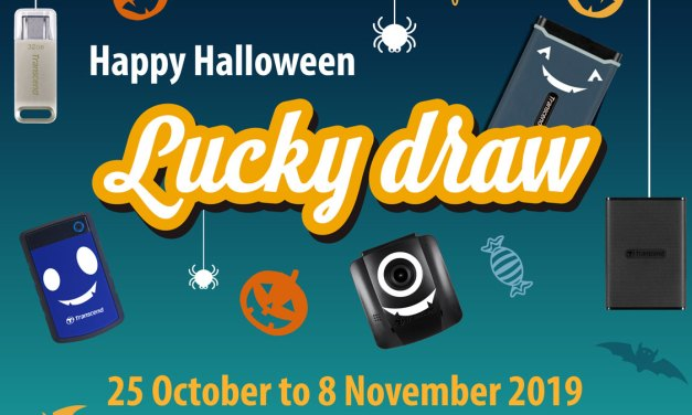 Trick or Treat with Transcend Halloween Raffle of 2019