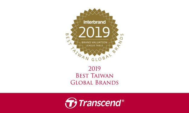 Transcend Makes It to Interbrand's Best Taiwan Global Brands List of 2019