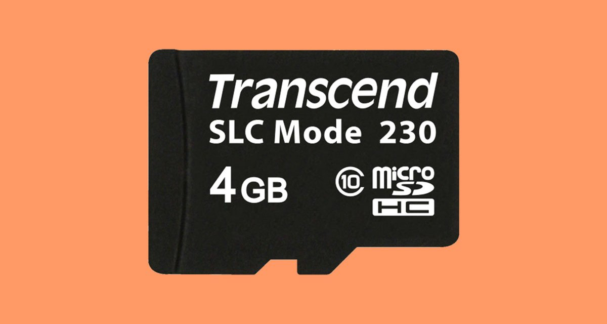 Transcend Releases USD230I Series Industrial-Grade Memory Cards