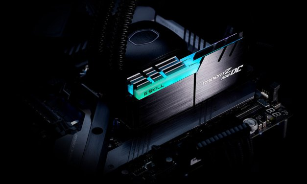 G.SKILL Announces Double Capacity DDR4 with Trident Z RGB DC Series