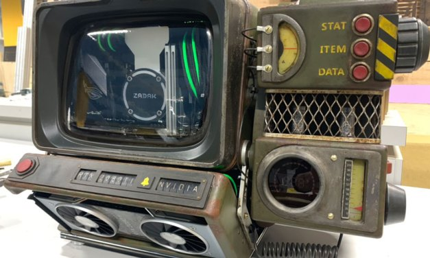 ZADAK and NVIDIAShowcases Fallout 76 Inspired Scratch Build