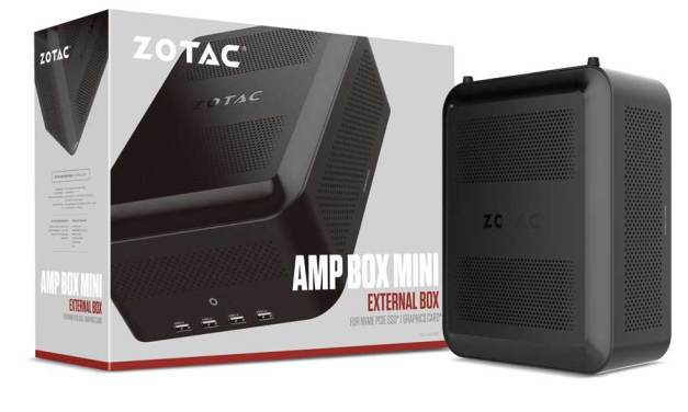 ZOTAC Unveils The AMP Box Series External Graphics and Storage Dock