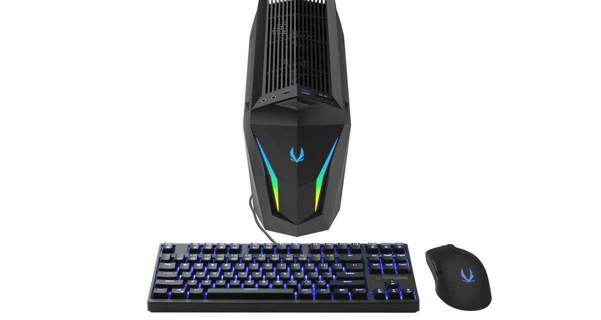 ZOTAC MEK Mini Gaming PC Goes SUPER