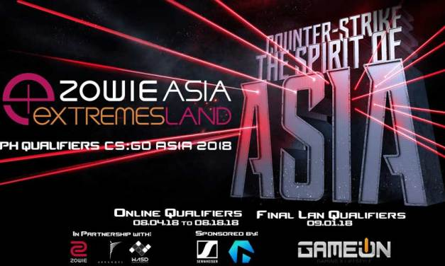 ZOWIE Announces eXTREMESLAND PH Qualifiers 2018