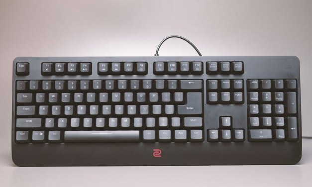Review | ZOWIE CELERITAS II Optical Switch Gaming Keyboard