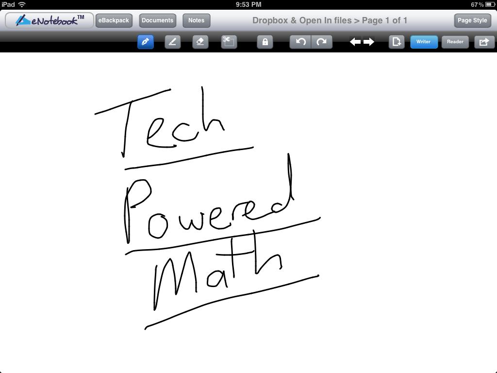 eNotebook iPad App Review
