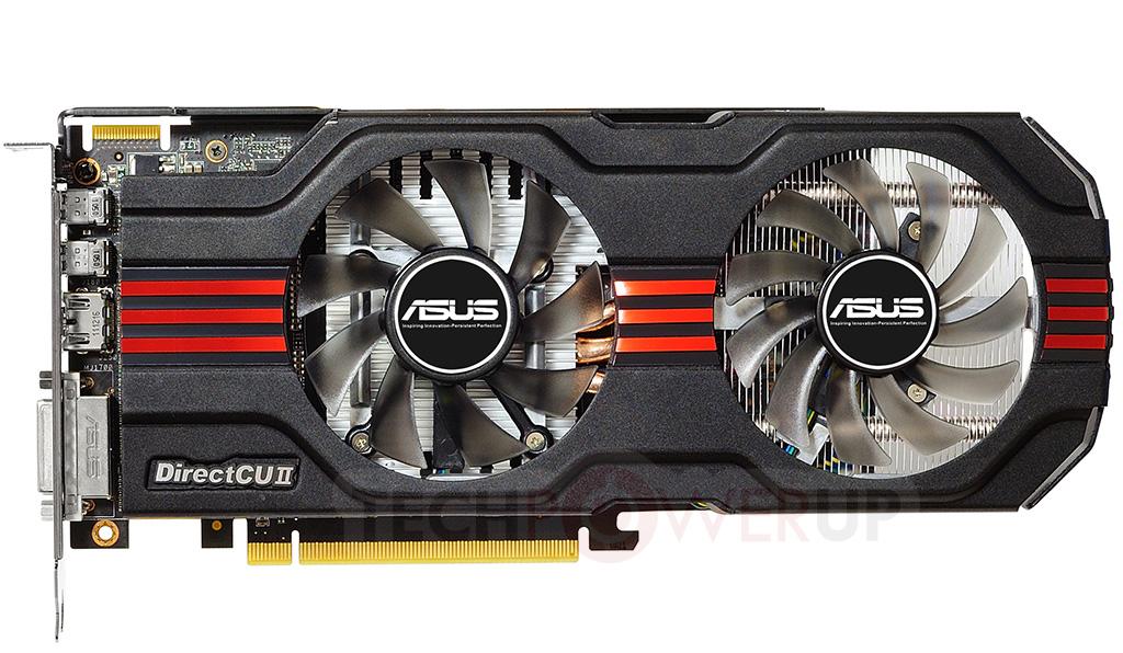 ASUS Announces Its Radeon HD 7800 DirectCu II Graphics Card Series TechPowerUp