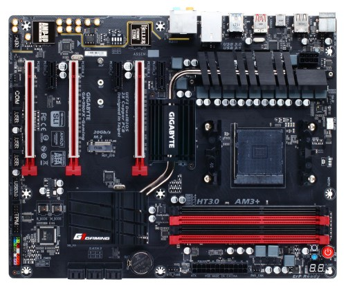 small resolution of gigabyte unveils the 990fx gaming socket am3 motherboard