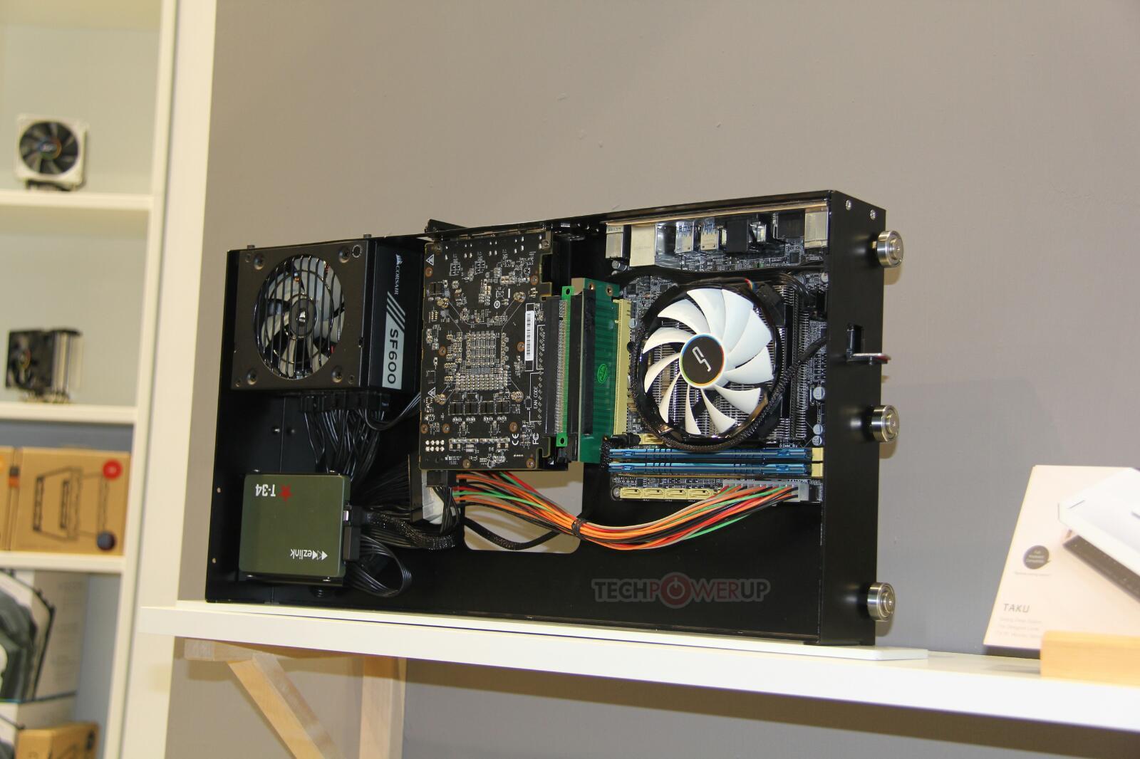 Cryorig Taku Flat Desktop Chassis Pictured  TechPowerUp