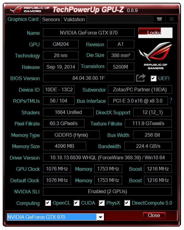TechPowerUp Releases GPU-Z 0.8.9 | TechPowerUp