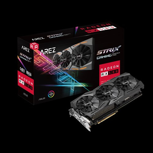 ASUS Prepares GPP Ridden Radeon RX 590 ROG STRIX Graphics