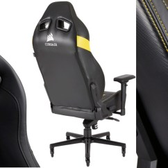 Lcs Gaming Chair Windsor Style Chairs Corsair Launches New T2 Road Warrior Techpowerup Forums With Eight Different Ways To Adjust Your Seat The Has Comfort Customization Covered 4d Armrests Up And Down Slide In Or Away From