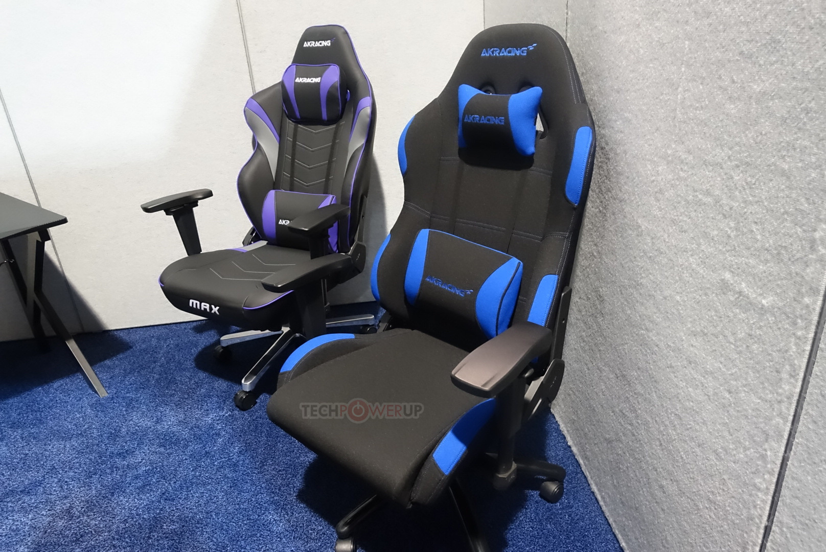 gaming chair companies nash fishing accessories akracing shows off chairs at ces 2018 techpowerup this particular advantage of s over other producing could be the hedge company needs for increased relevance in
