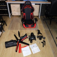 Dxracer Chair Accessories Reclining Wingback Covers Racing Pro R131 Nr Gaming Review Techpowerup