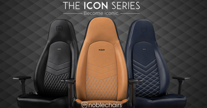 noblechairs ICON Real Leather Chair Review  TechPowerUp