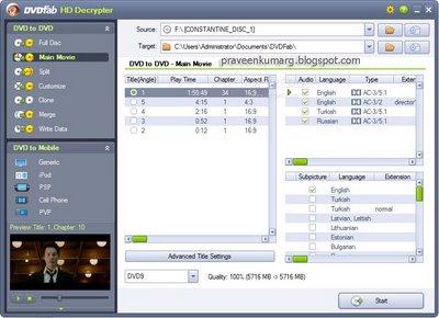 DVDFab Platinum 5.0.7.5 - Final