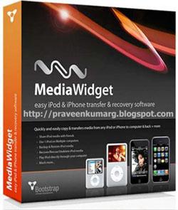 Media Widget v2.1.10 - Copy your ipod To P