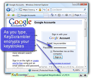 KeyScrambler Personal