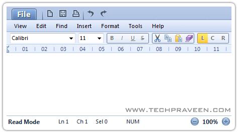 Microsoft wordpad 2010