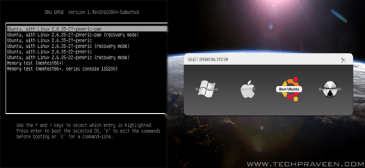 Customize Your GRUB2 Boot Loader On Ubuntu