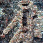 Create A Mosaic Pattern Using Your Facebook Friend's Photos