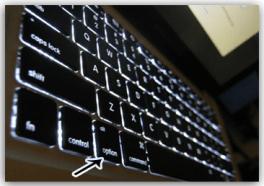 Apple Macbook Pro Option Key