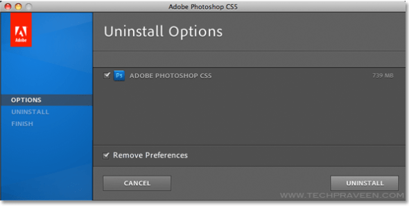 Completely Uninstall Adobe Photopshop CS5
