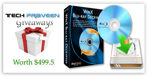 Free Giveaways WinX Blu-ray Decrypter License Keys