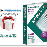 Giveaways: 3 Kaspersky Internet Security 2012 License Key Worth $180