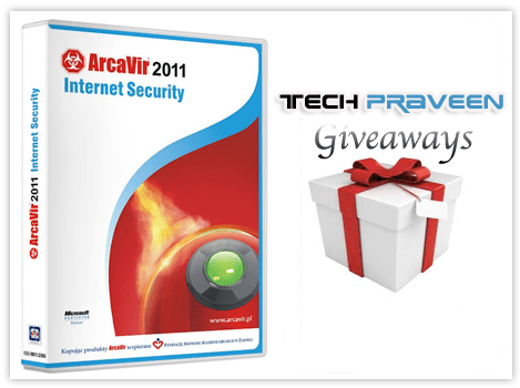 ArcaVir 2011 Internet Security 30 License Key Worth Over $1500
