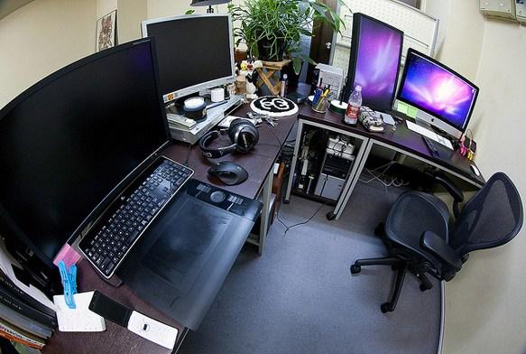 Office desktop setups