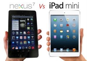 exus 7 Vs iPad Mini