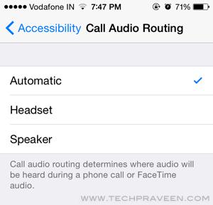 iPhone 5S Call Settings