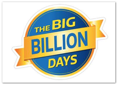 Flipkart Big Billion Days Sale Offer 2015 (App Only)- 13th - 17th October