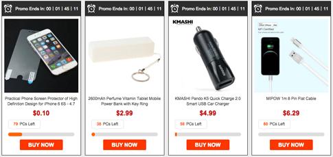 iPhone 6S Accessories Flash Sale Gearbest