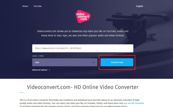 Video Converter Click Convert Now