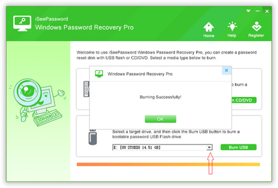 iSeePassword Windows Password Recovery