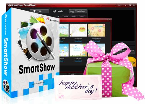 blazevideo smartshow mothers day