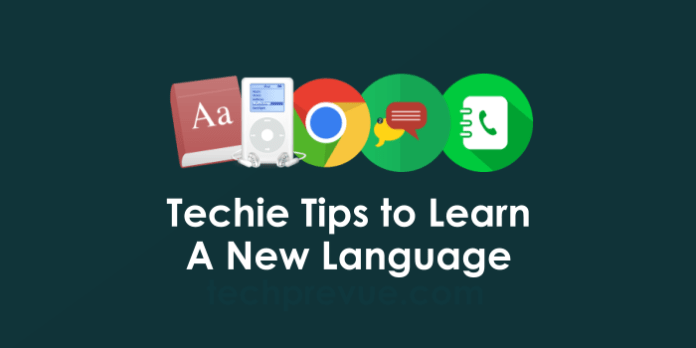 Tech help to learn a new language