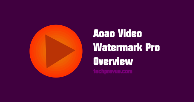 aoao video watermark pro overview
