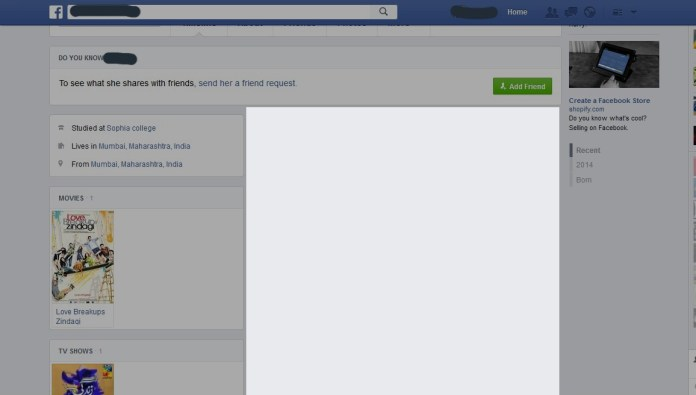 Check Facebook posts